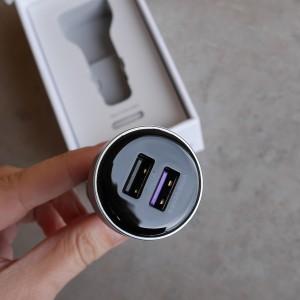 Ładowarka samochodowa Huawei SuperCharge dwa sloty