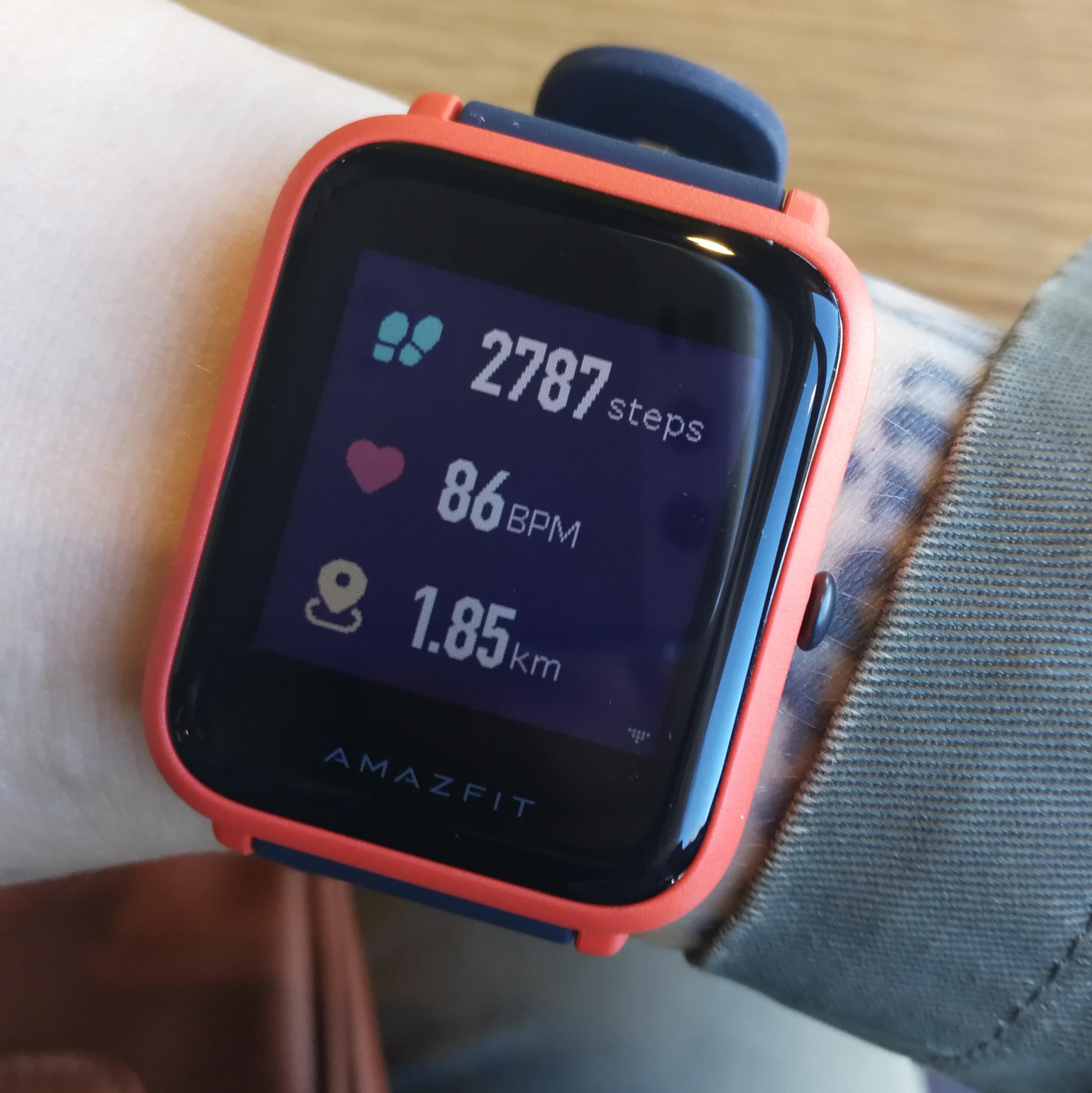 Amazfit Bip - smartwatch od Xiaomi