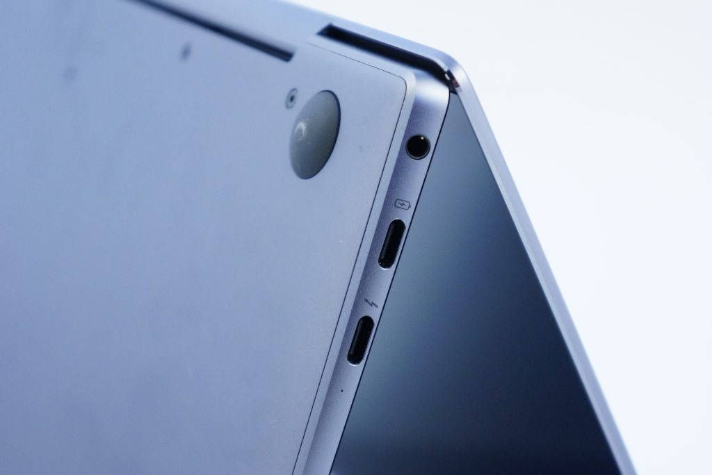 Huawei MateBook X Pro - gniazda
