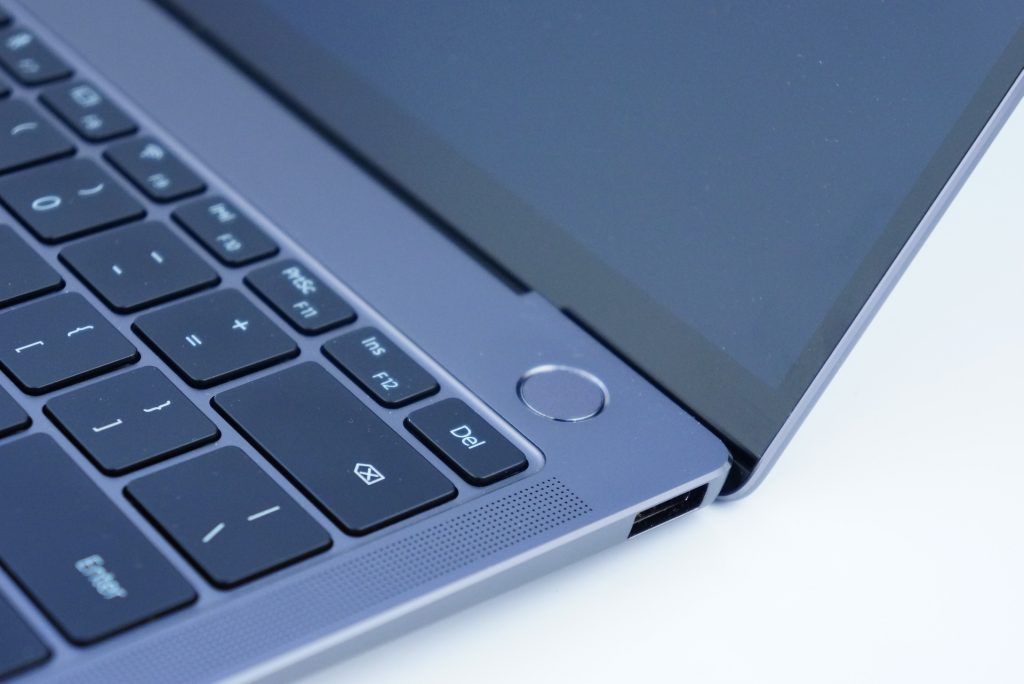 Huawei MateBook X Pro - czytnik