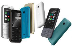 Nokia 8000 4G i Nokia 6300 4G fot. Nokia